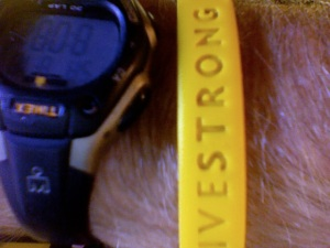 To Livestrong, you must be strong