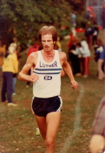 A talisman hawk's claw was part of the inspiration in college cross country.