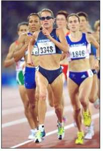 Suzy Favor Hamilton is one of America's all time leading female distance runners.