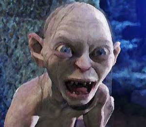 Floaters in your eyes can make you crazy. Just ask Gollum.