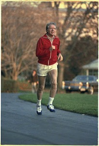 Did Jimmy Carter wear a jock back in the day? Yuk! Who cares? Don't want to think about that.