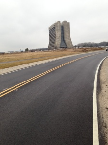 The roads around Fermi Lab are prized as training grounds for those who run and ride.
