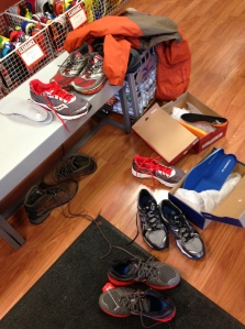 Buying new running or riding gear can be a messy process.
