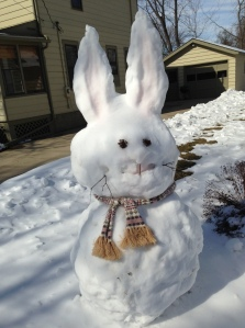 The Easter Bunny. Frozen.