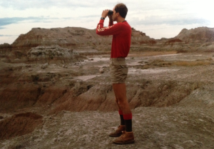 In 1985 I visited the Badlands of South Dakota, an area where geography is laid bare for all to see.