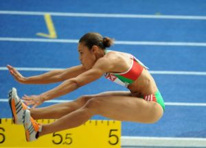 At a high school or world level track meet, the field events are as interesting as the racing.