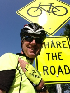 Share the Road comes with a dose of smarts on the part of cyclists.
