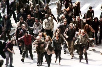 Walking Dead or the 20 mile mark in a marathon? Hard to tell sometimes.