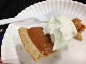 Just rewards. The Golden Pie.