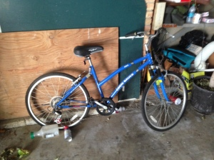 What may be the world's heaviest bike, donated to Goodwill. Good riddance.
