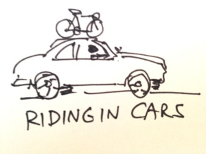 Riding in cars