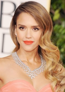 Jessica Alba sports some really nice hair. In some countries, that's enough to get you dragged off and beaten if you're a woman. If you're a man, however, hair is God's gift to manliness. Go figure.