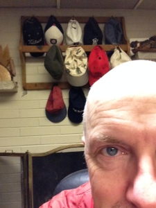 A bald head can be a benefit, you know.