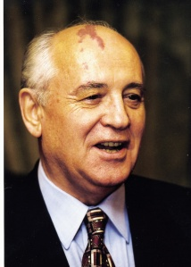 Gorbachev. That's how I look after an encounter with a garage door.