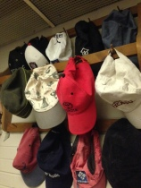 Just a sampling of my hat collection.