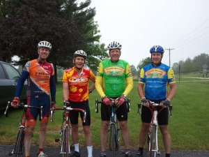 Riding with buddies is an affirmation that what you do actually matters when you run or ride.