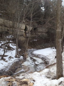 The limestone bluffs of Decorah, Iowa are some of the most scenic in the Midwest.