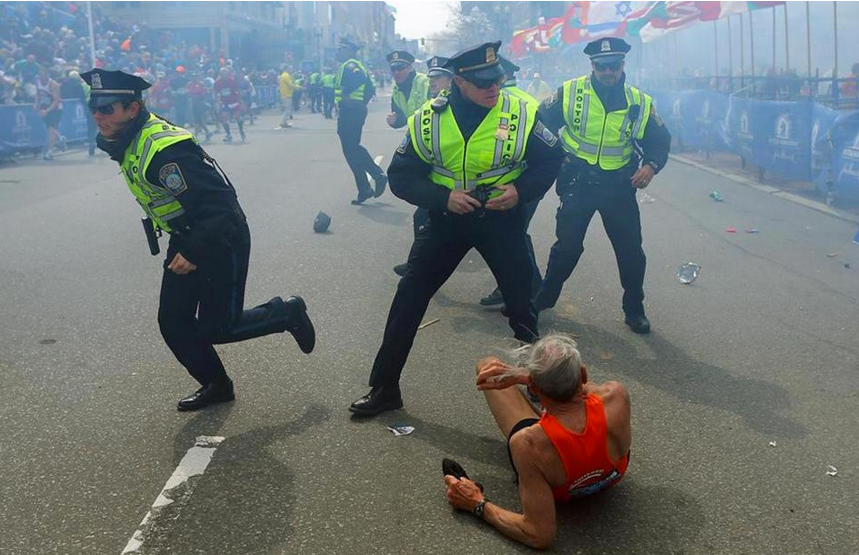 Why the Boston Marathon is a vital symbol for social order ...