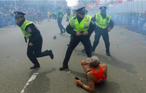 Boston Marathon bombing photo from the Boston Globe website (link provided)