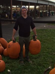 90 lbs of pumpkins