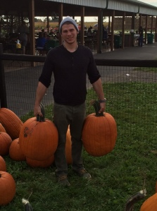90 lbs of pumpkins