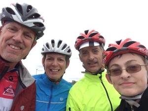 Riders no glasses