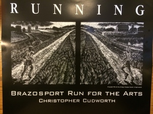 The RUNNING poster is available for $20. Click for information.