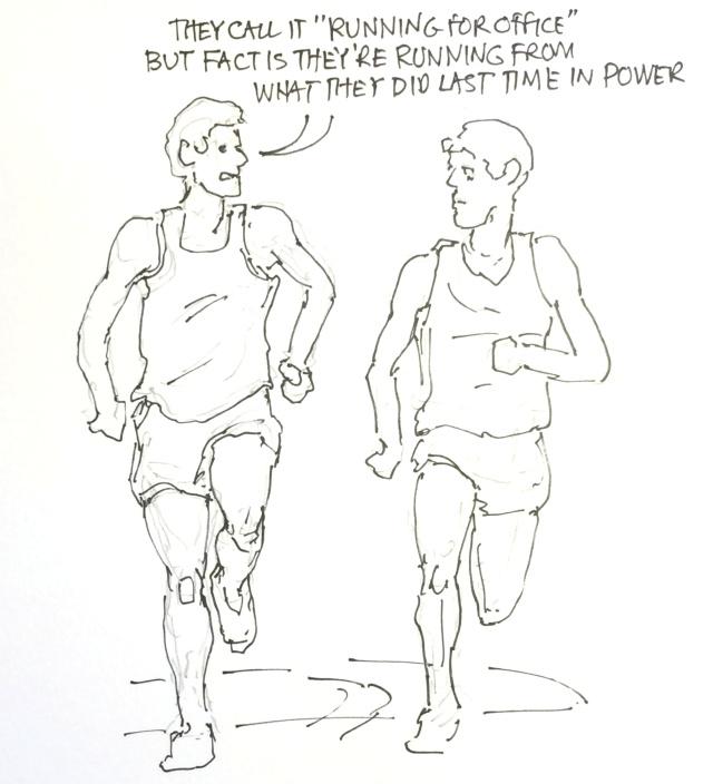 Running conversation