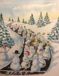 Frosty Runs a Marathon