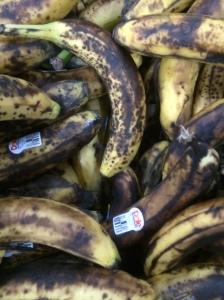 Wall of bananas