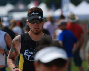 Damon Gowdy, Ironman and leading Duathlon competitor.