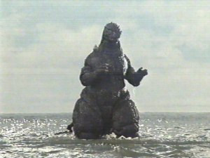 The creature named Lipitor emerges from the ocean to terrorize the world.