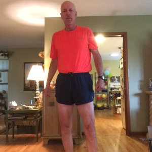 The hemline of my new shorts is a little higher. And faster. I hope.