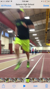 Chris running Intervals 2