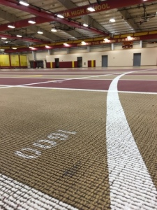 Track surface