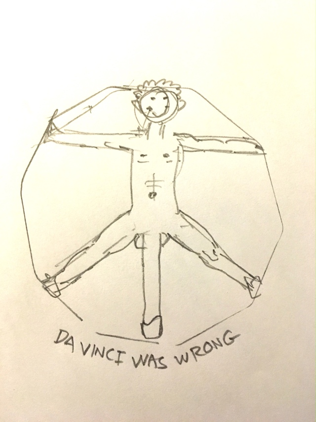 Davinci was wrong