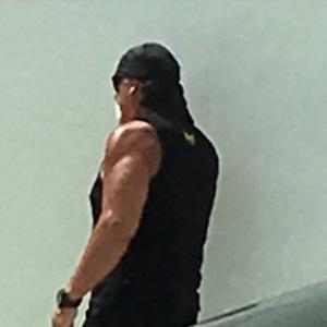 Hulk Hogan Closeup
