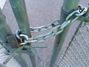 Lock on Fences