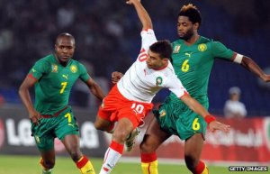 Cameroon soccer players