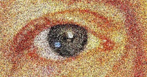 Eye Mezzotint
