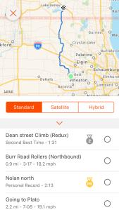 Chuck's Ride Route