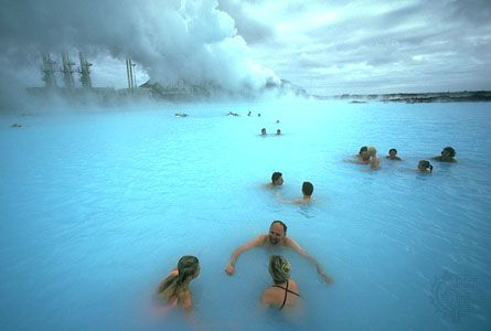Warm Icelandic springs