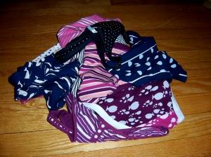 Panties in a pile